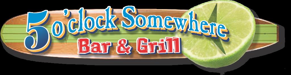 5 oclock Somewhere Bar & Grill surfbrd