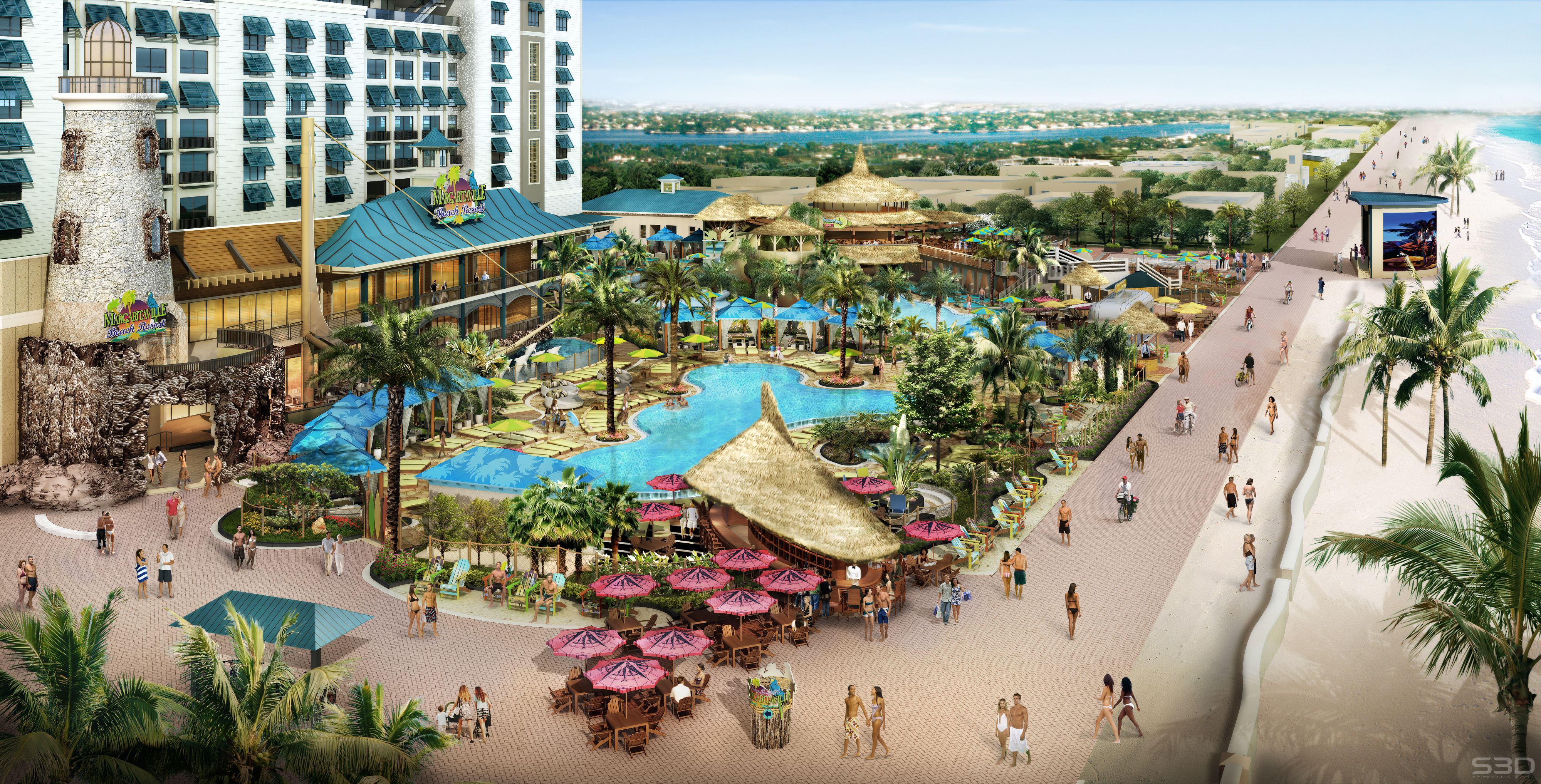 Lone Palm Beach Bar Margaritaville Hollywood Beach Resort