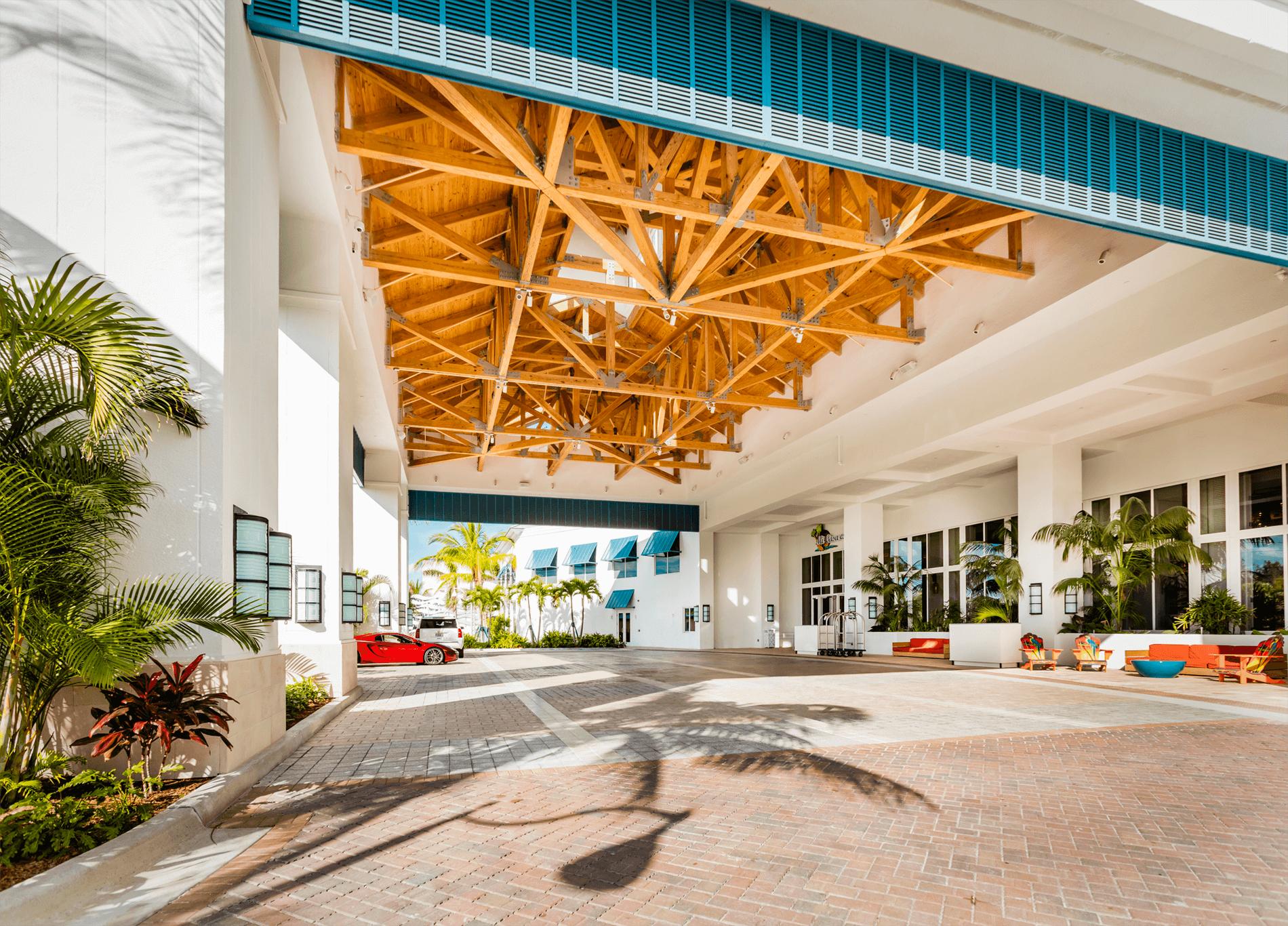 Valet Entrance