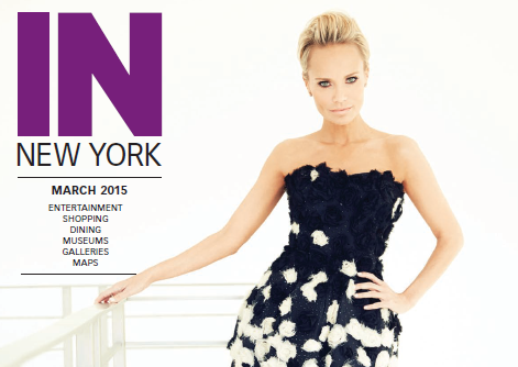 Kristin Chenoweth on the Cover of IN New York