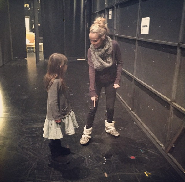 Kristin Chenoweth and Sarah Michelle Gellar's daughter Charlotte