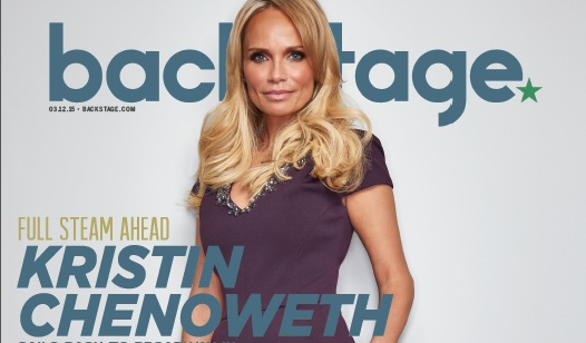 Kristin Chenoweth Takes the Cover of Backstage
