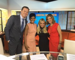 Kristin Chenoweth Talks Instagram on Ambien on the Today Show