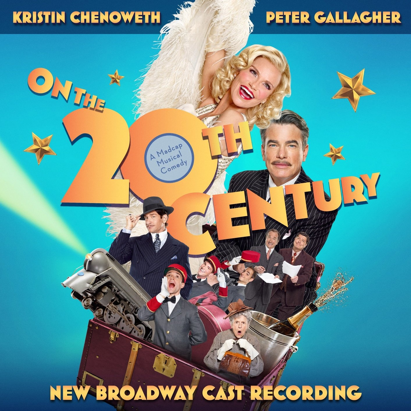 Giveaway: Signed On The 20th Century Cast Album