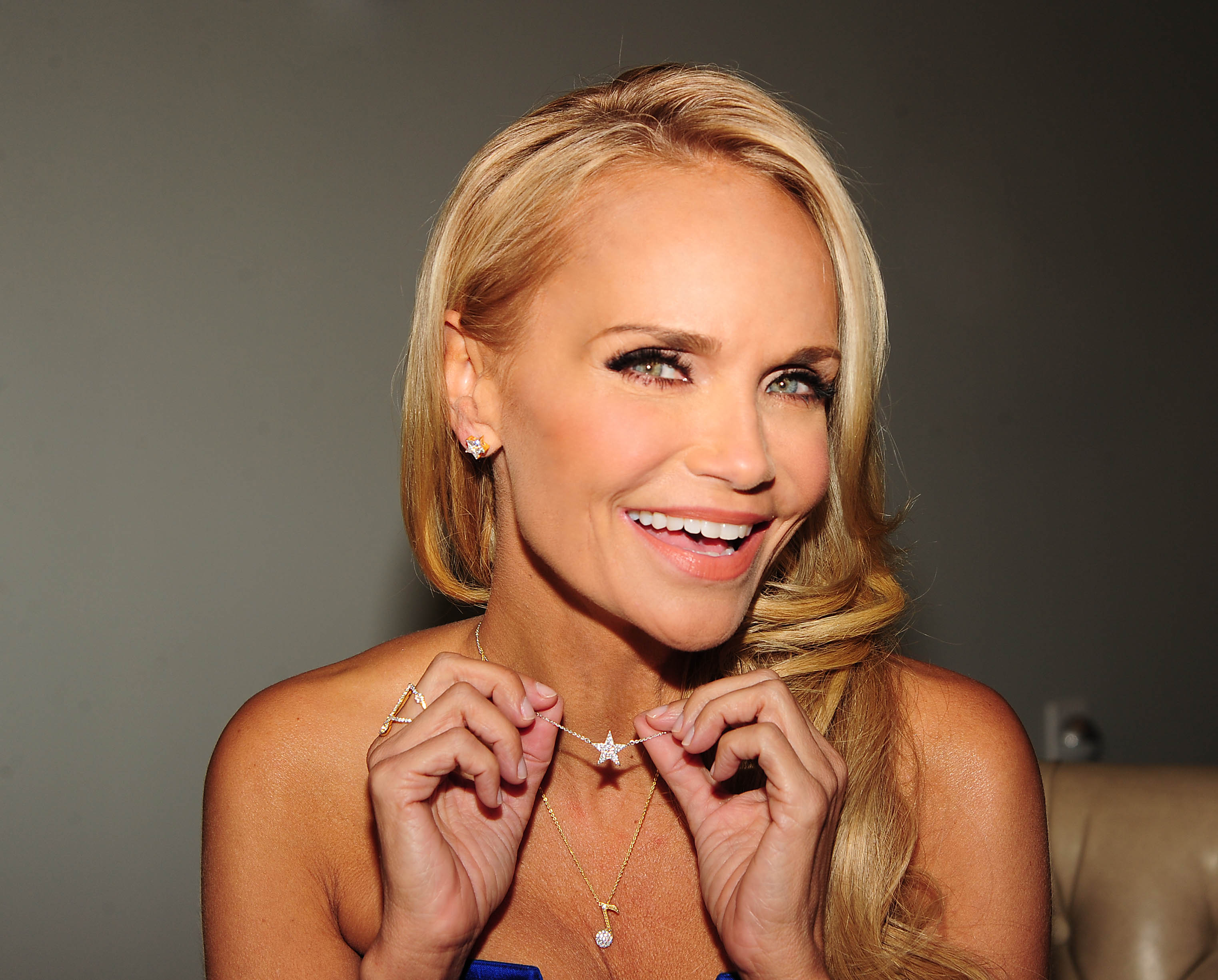 Kristin Chenoweth With Some Items From Her Soon To Launch Jewelry Line from HSN