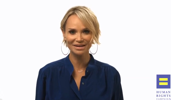 Kristin Chenoweth Supports HRC's Americans for Marriage Equality Campaign