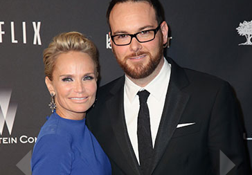 After Party Arrivals: Kristin Chenoweth and Dana Brunetti