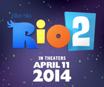 Rio 2 in Theaters TOMORROW!