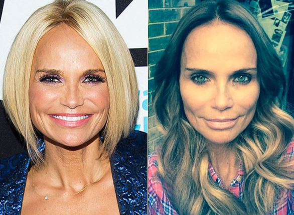 Kristin Chenoweth Debuts Longer, Darker Hair