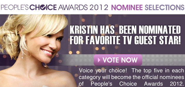 2012 People's Choice Awards Vote now!