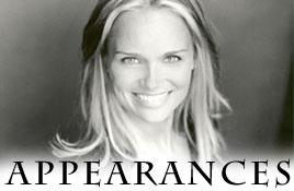 Kristin's Appearances