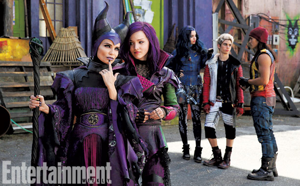 Exclusive photo: Kristin Chenoweth as Maleficent in Disney's 'Descendants'