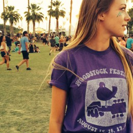 The Woodstock Purple Dove T-Shirt