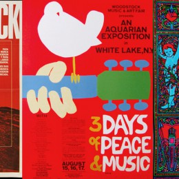 Which classic Woodstock poster is your favorite?