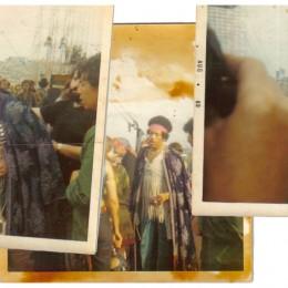 Polaroids of Jimi