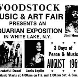 Woodstock '69 Lineup!