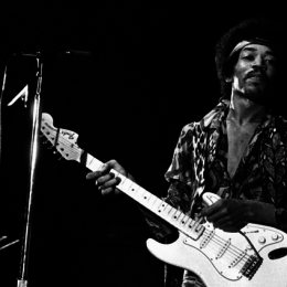 New Jimi Hendrix Stratocaster