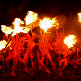 The Beltane Fire Festival!