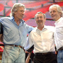 Flash Back: Pink Floyd Reunites at Live 8
