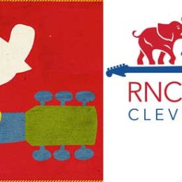 Woodstock Ventures Questions Republican National  Convention Logo