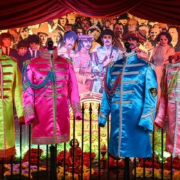Sgt Pepper's suits to go on display at the Beatles Story