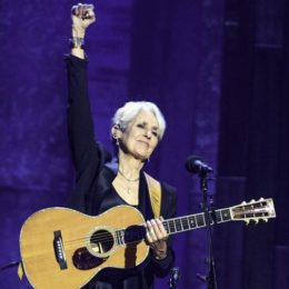 Joan Baez Inducted into Rock & Roll Hall of Fame