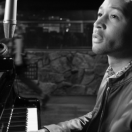 "John Legend returns with soulful ""Woodstock"" Joni Mitchell cover"