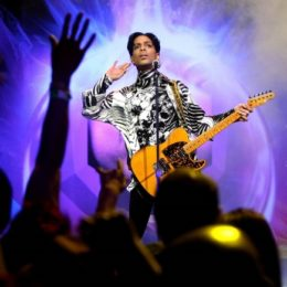 Prince Honors A Musical Hero With 'Santana Medley'
