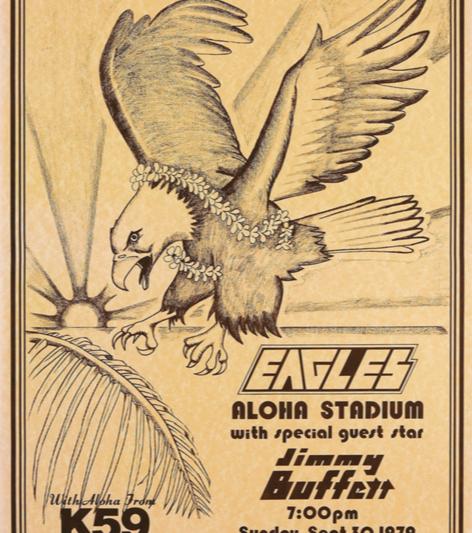 1979 Eagles Jimmy Buffett