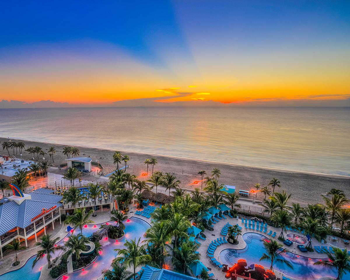 Margaritaville hollywood beach resort named to 25 best for The best beach vacations