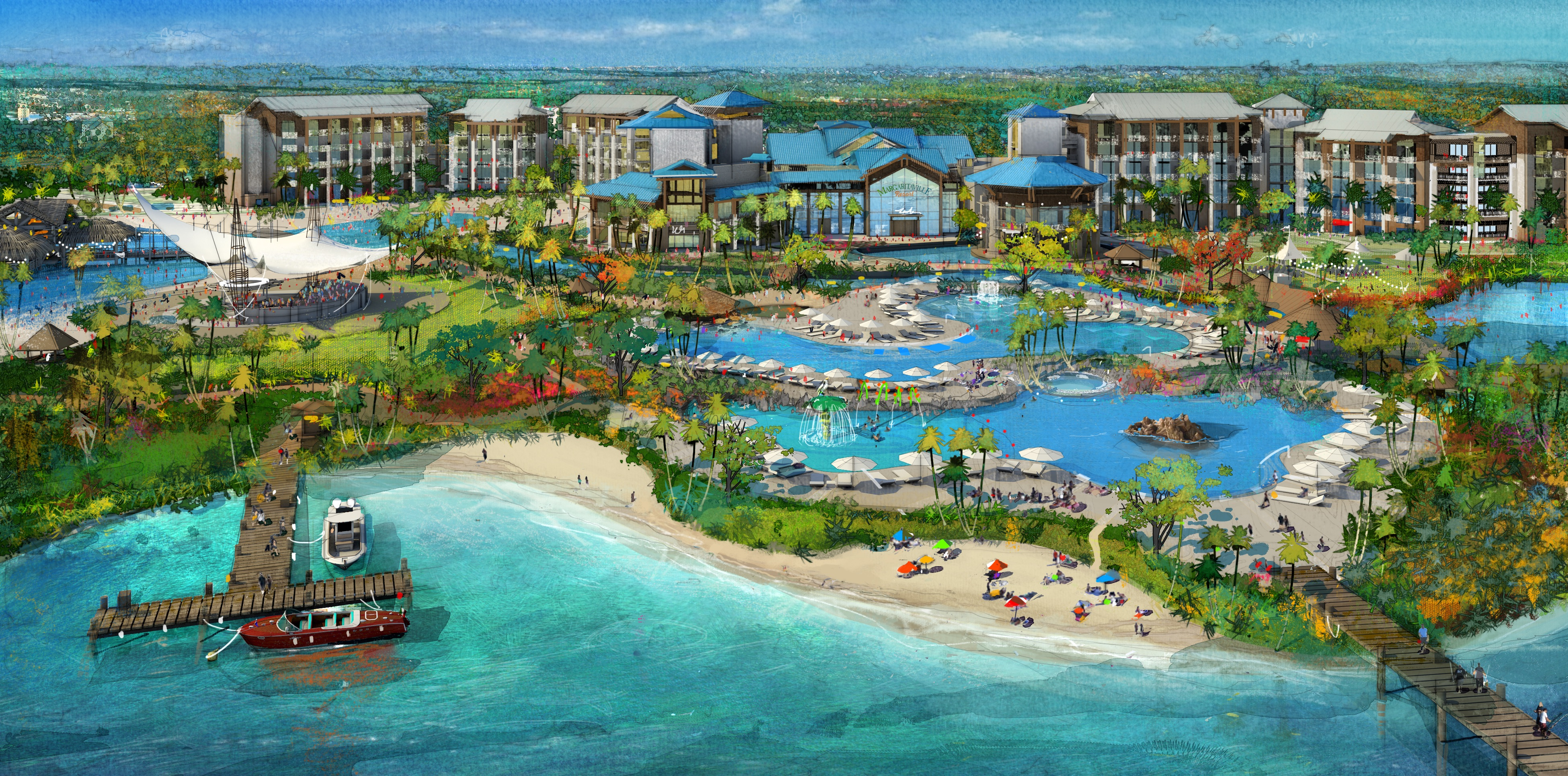 Margaritaville Resort Orlando Reveals First Renderings