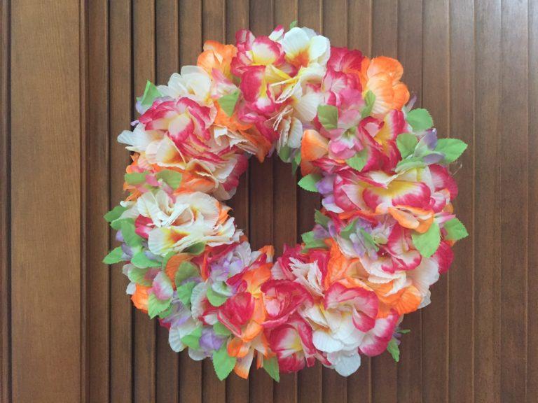 DIY: get festive with a Lei Wreath