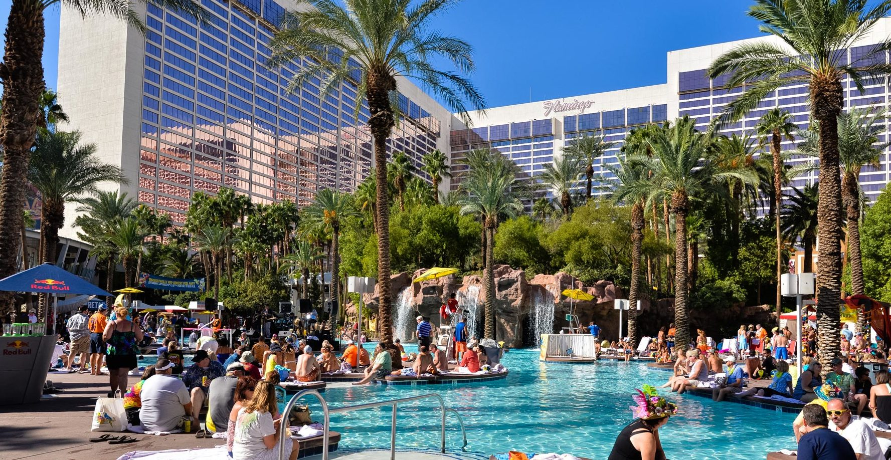August Pool Parties Las Vegas