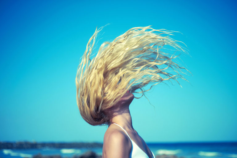 Wear Your Summer Beach Waves Well Into Fall