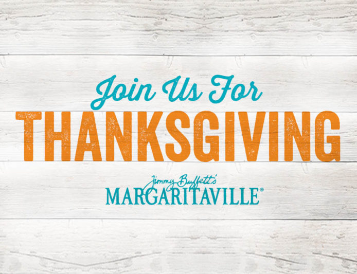 Thanksgiving at Margaritaville