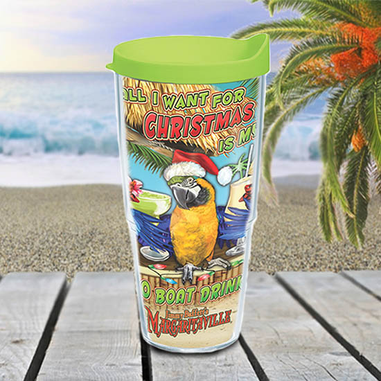 Christmas Boat Drinks Tervis Tumbler