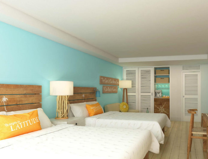 Margaritaville Grand Cayman Resort Guestroom