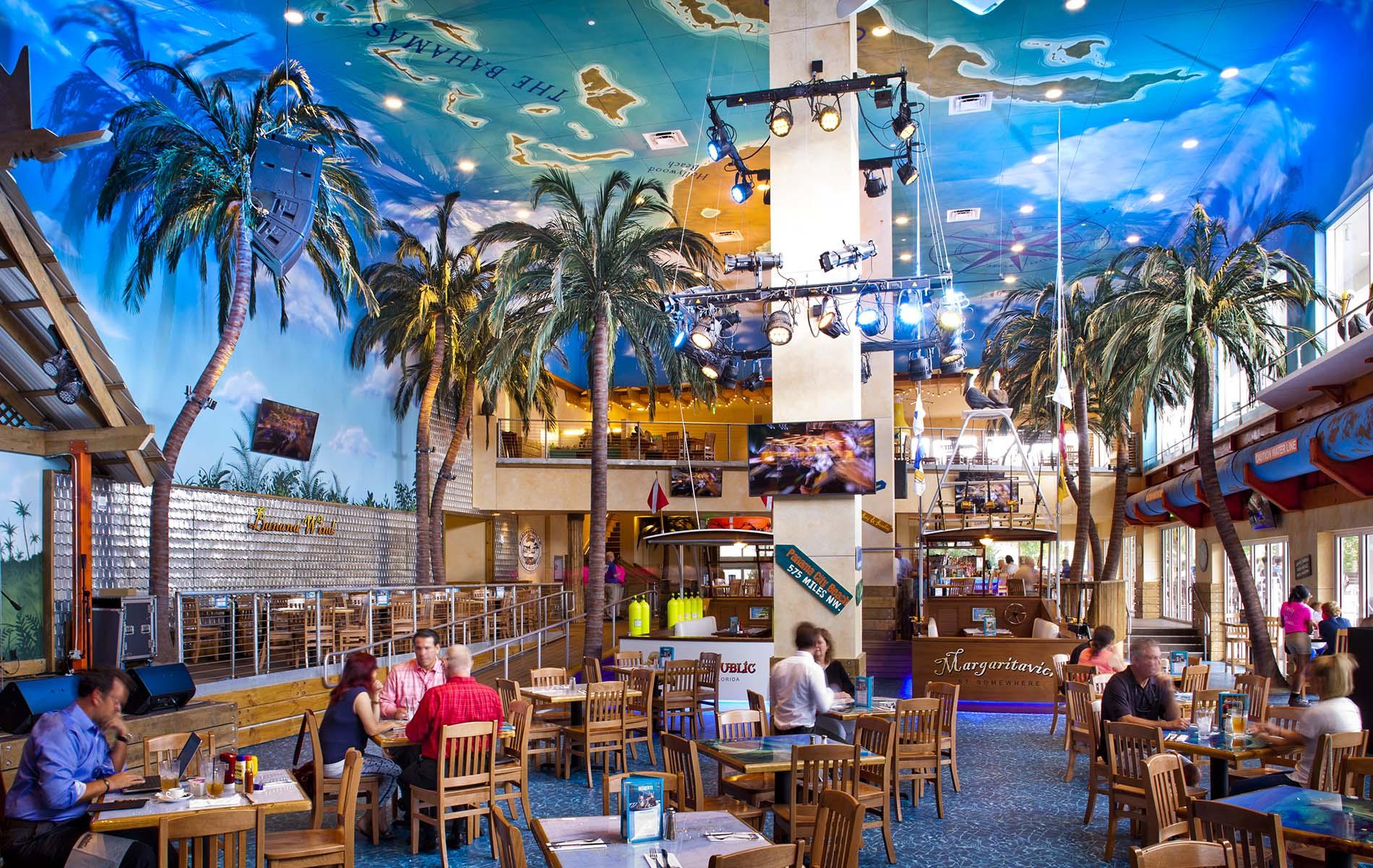 New Lighter Fare Menu at Margaritaville Hollywood, FL