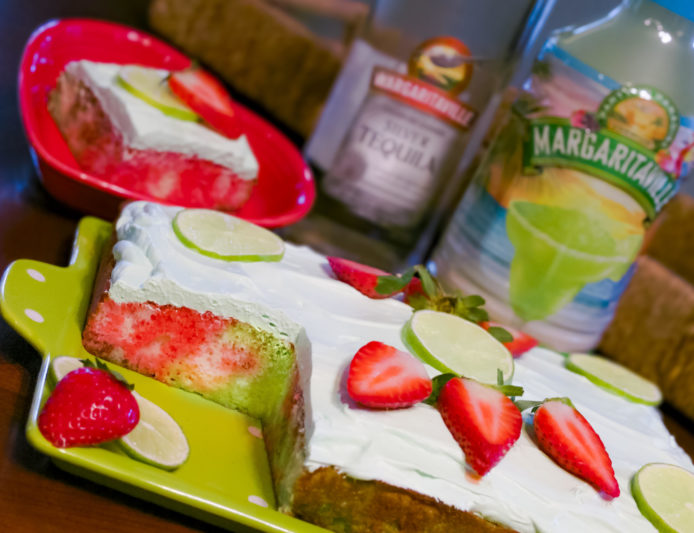 Margarita Love with Strawberry Tequila Cake - Margaritaville Blog
