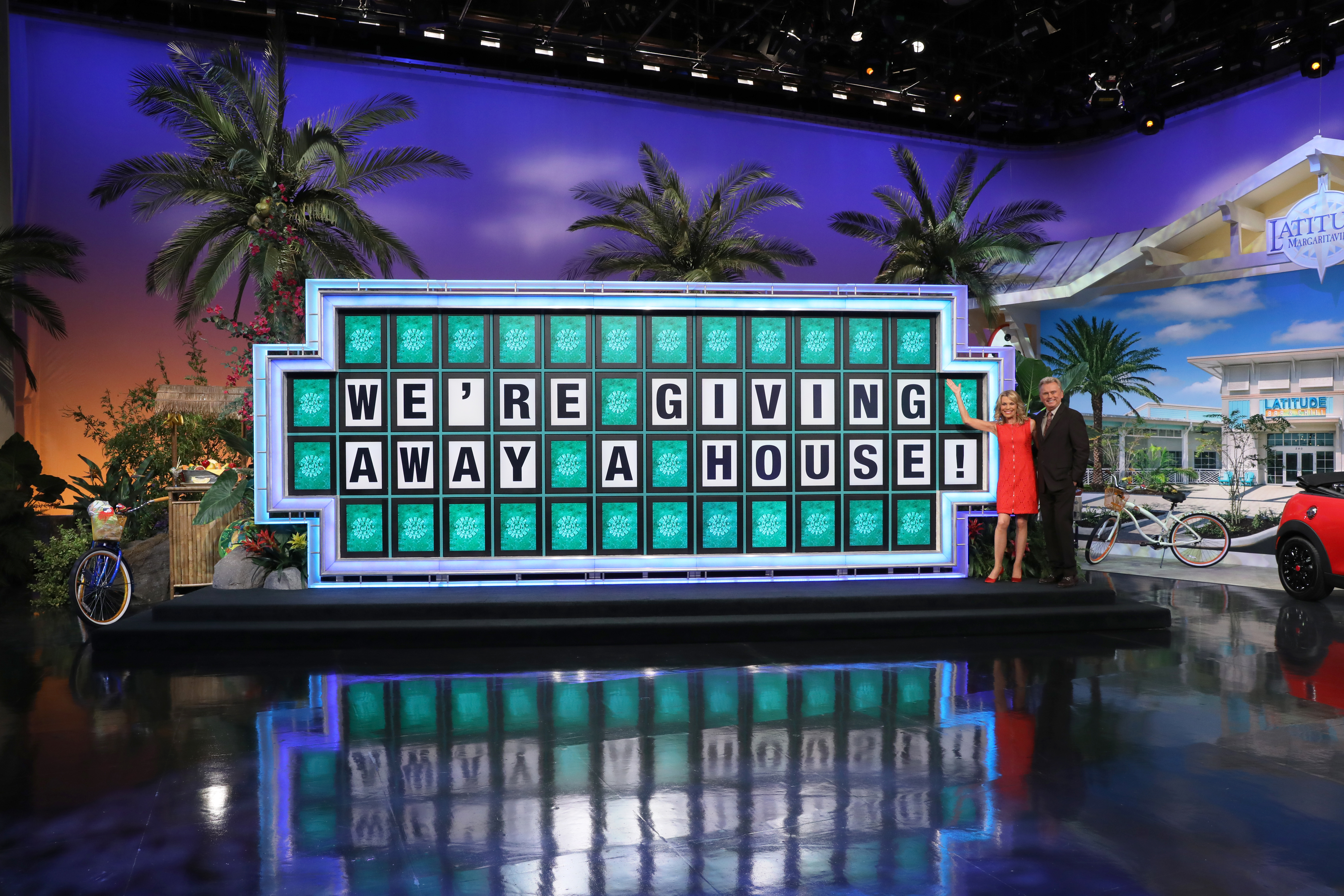 WHEEL OF FORTUNE TO GIVE AWAY ANOTHER NEW HOME IN LATITUDE MARGARITAVILLE