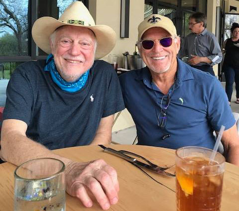 Jerry Jeff Walker and Jimmy Buffett