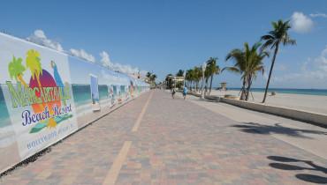 Margaritaville Hollywood Beach Resort boardwalk