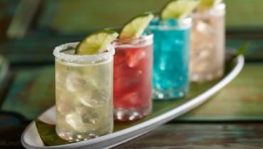 Drinks at Margaritaville Hollywood Beach Resort