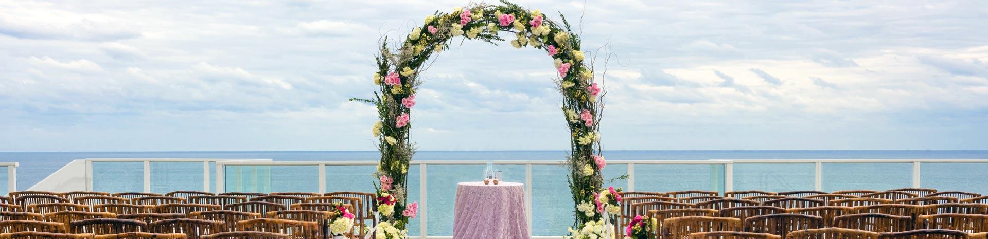 South Florida Beach Wedding | Margaritaville Hollywood Beach Resort