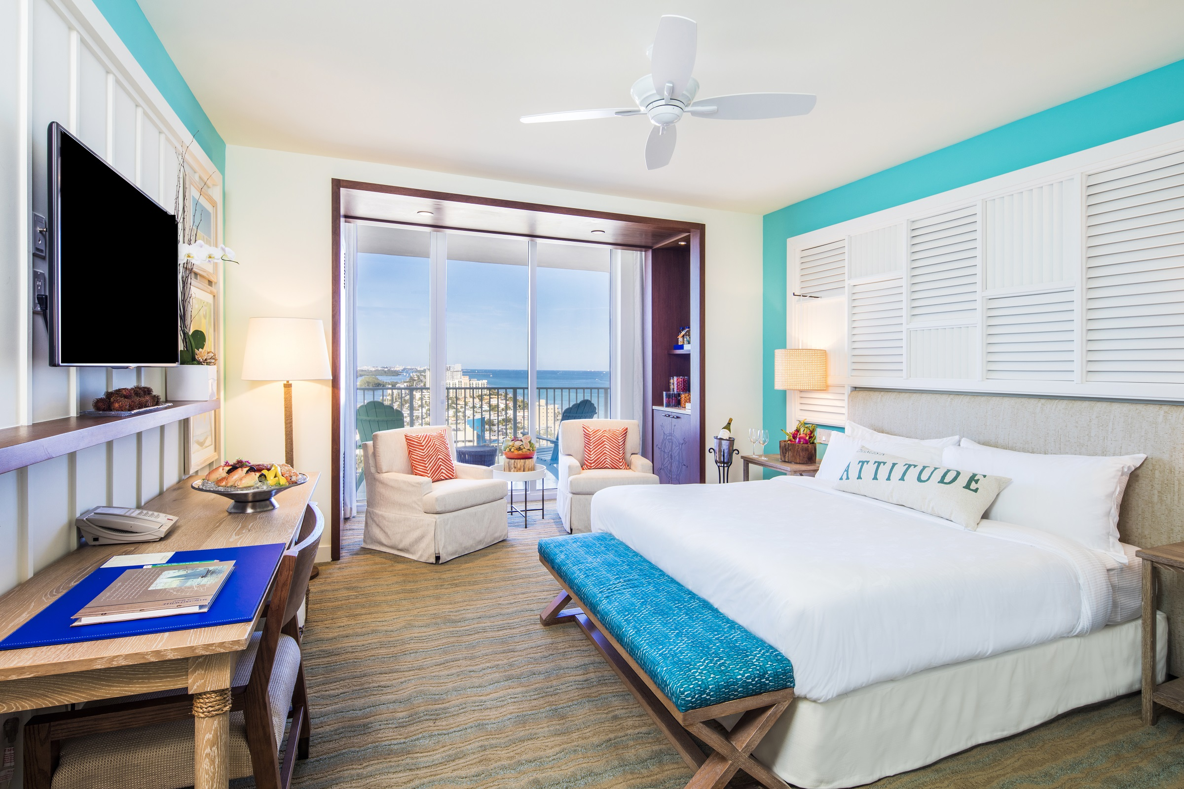 Margaritaville Hollywood Beach Resort Guestrooms