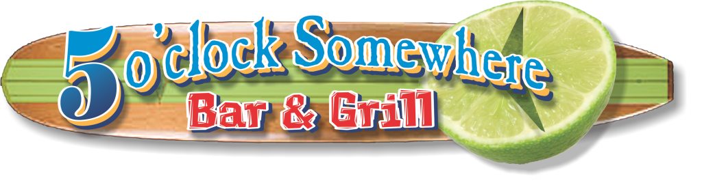 5 oclock Somewhere Bar & Grill logo