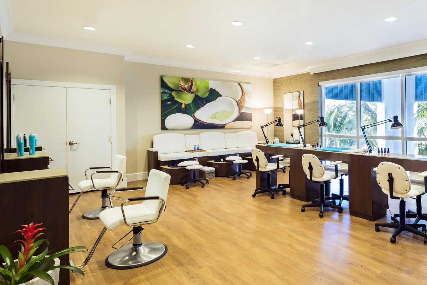 Spa salon interior