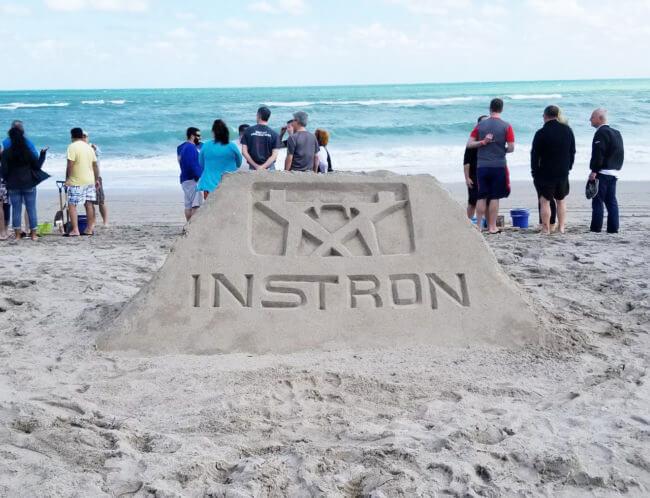 INSTRON Sand sculpture