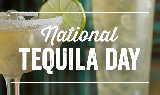 National Tequila Day - image of margaritas with limes