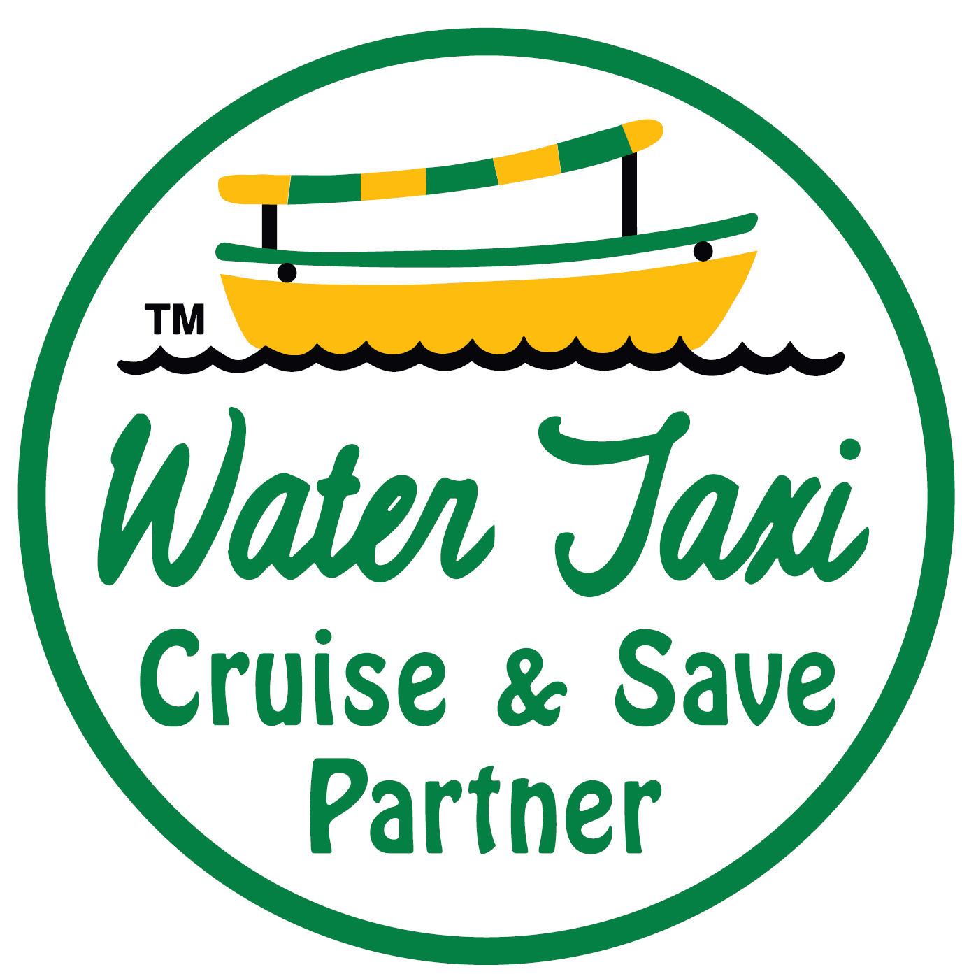 Water Taxi Cruise and Save Logo